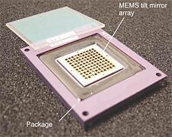 High-yield Fabrication Methods for MEMS Tilt Mirror Array