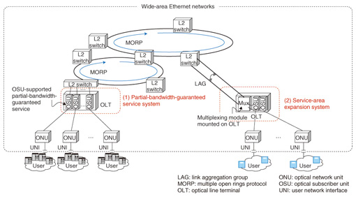 Advanced Technologies for Wide-area Ethernet Networks | NTT